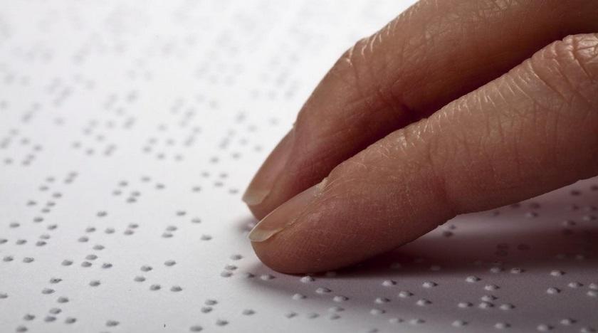 brailovo písmo, slepecké písmo